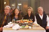 Queere Serien: Sam Waterston, Lily Tomlin, Jane Fonda und Martin Sheen