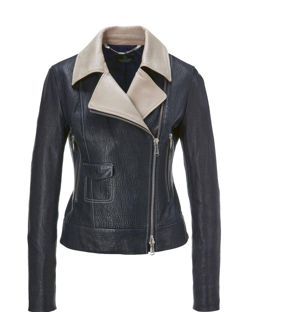 40er Jahre Mode: Lederjacke