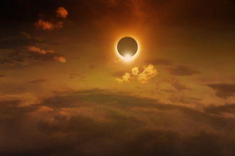 Ringförmige Sonnenfinsternis am 10. Juni: Ein Bild von einer Sonnenfinsternis