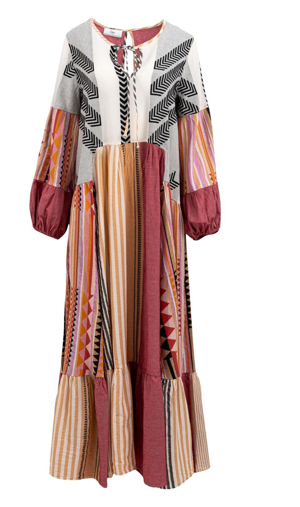 40er Jahre Mode: Maxikleid