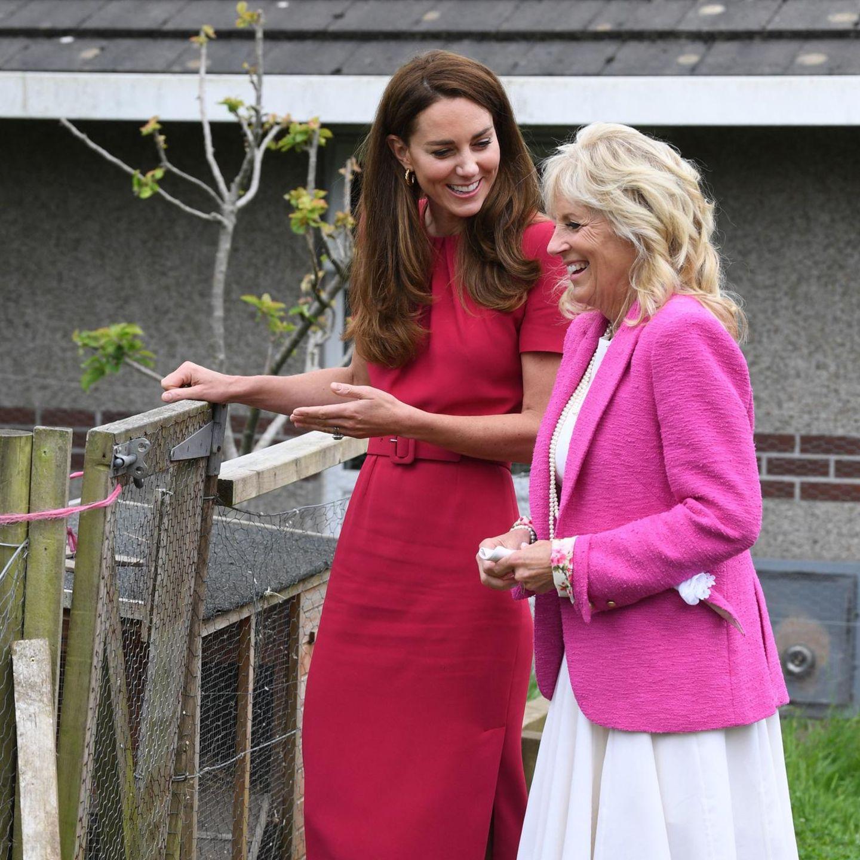Der Style von Herzogin Catherine: Kate und Jill Biden