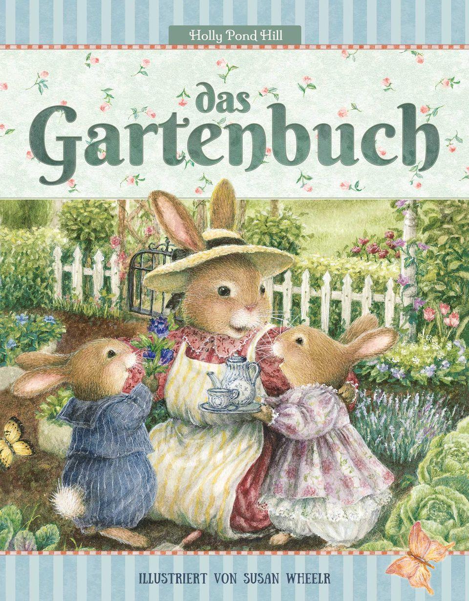 """Gärtnern mit Kindern: Buchcover """"Das Gartenbuch"""""""