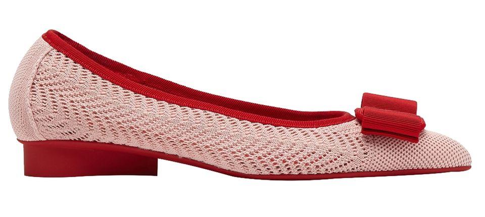 Den eigenen Stil finden: Ballerinas in rot