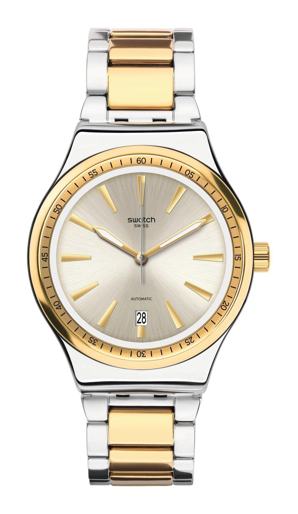 Den eigenen Stil finden: silberne Uhr