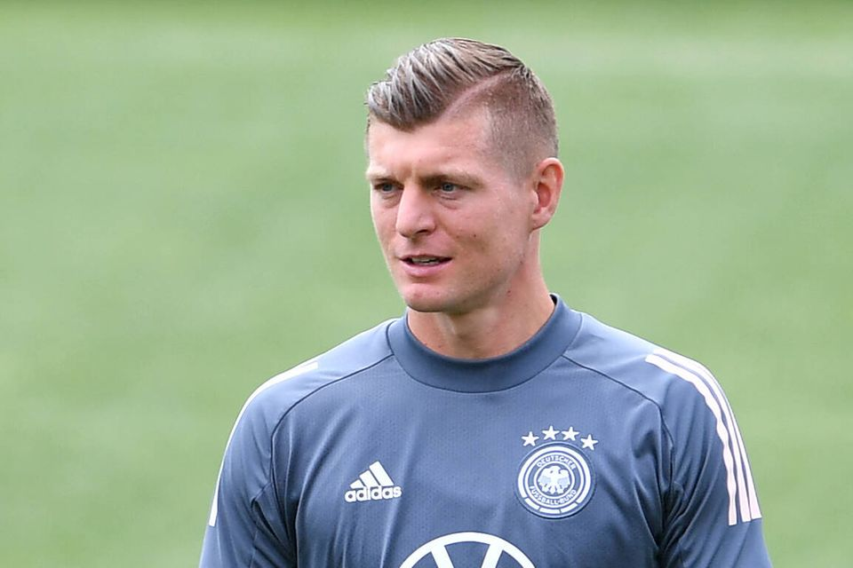 Fußballer-Frisuren: Toni Kroos