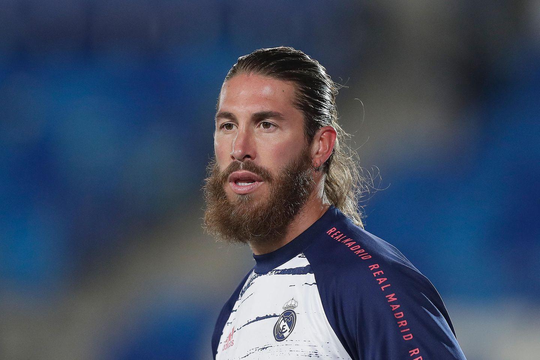 Fußballer-Frisuren: Sergio Ramos