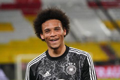 Fußballer-Frisuren: Leroy Sané