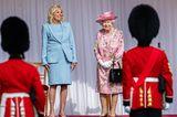 Die Bidens besuchen die Queen auf Schloss Windsor