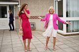 First Lady Jill Biden trifft Herzogin Catherine in Hayle