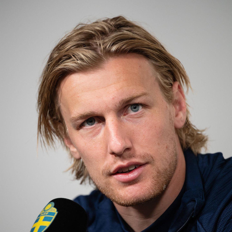 Fußballer-Frisuren: Emil Forsberg