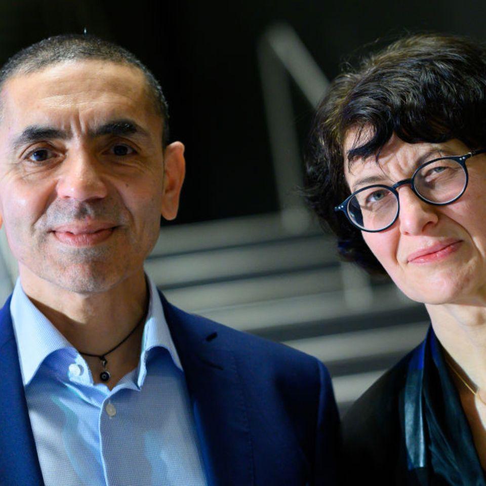 Krebs-Impfstoffe: BioNTech-Gründer Özlem Türeci und Uğur Şahin