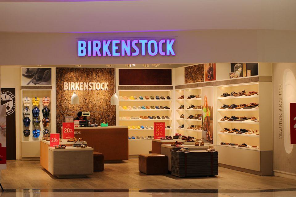 Rückruf: Birkenstock-Filiale