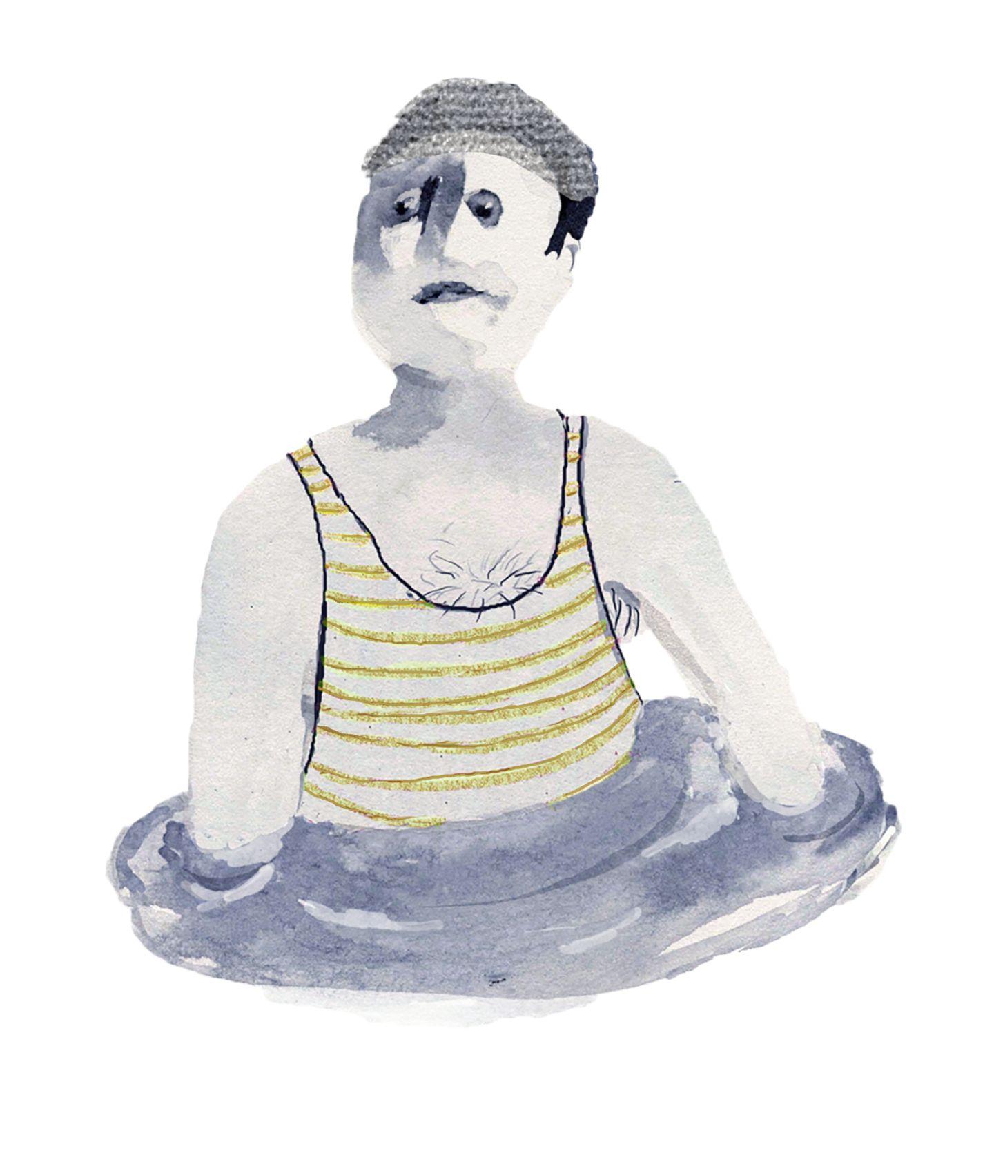 Illustration Sternzeichen Wassermann