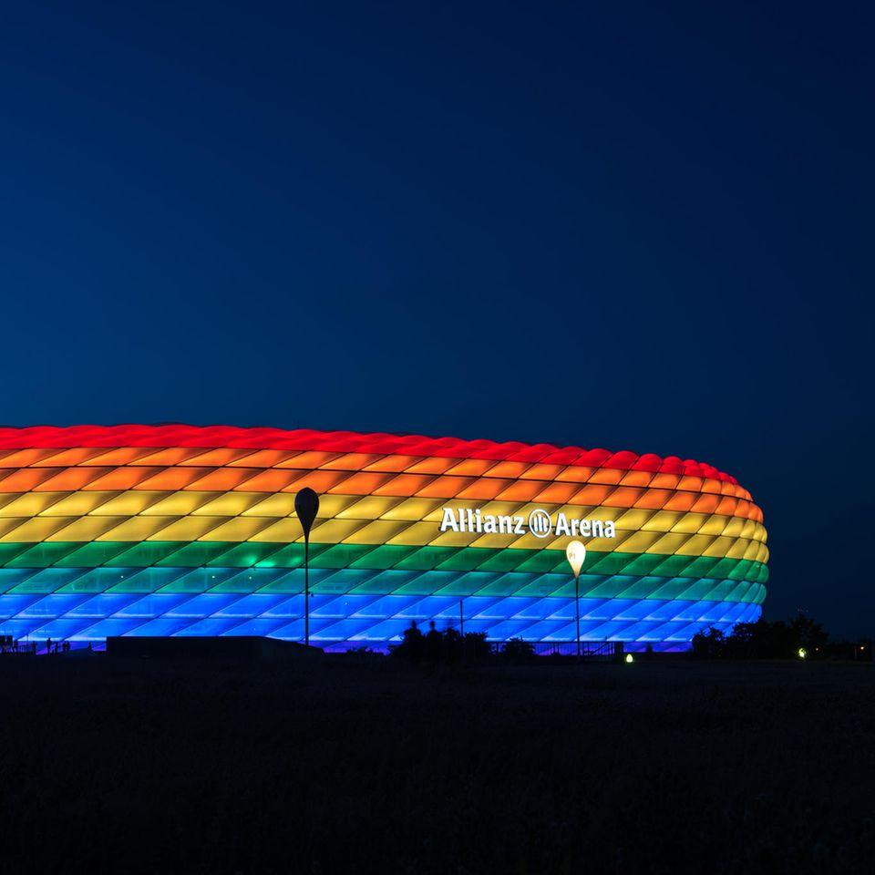 Regenbogen-Verbot in München