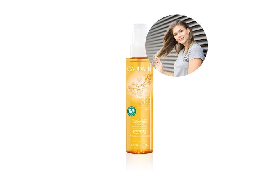 Beauty-Redakteurin Friederike liebt Sonnenöl mit Lichtschutzfaktor.