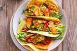Tacos mit Paprika-Hähnchen