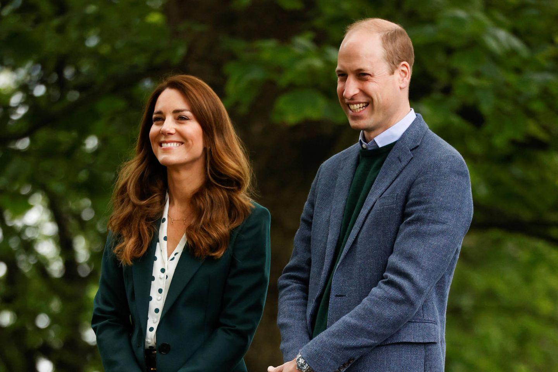 Herzogin Kate + Prinz William: George weiß, dass er eines Tages König sein wird: Herzogin Kate und Prinz William