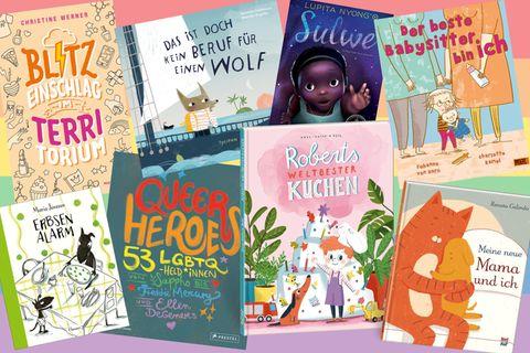 20 Kinderbücher voller Diversität und Vielfalt – Cover der Bücher