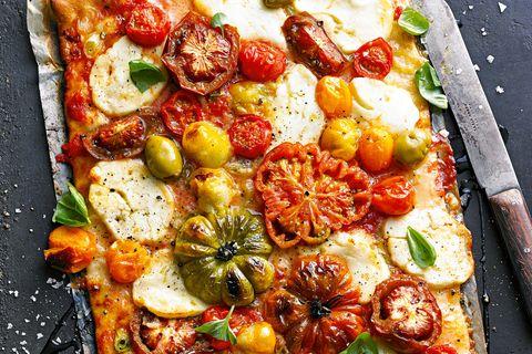 Lieblingsrezepte der Woche: Garten-Pizza