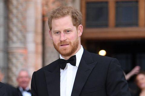 Prinz Harry: Seine Körpersprache verrät die Anspannung vor der Statue-Enthüllung: Prinz Harry