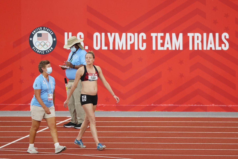 Olympia 2021: Lindsay Flach Schwartz schwanger auf Rennbahn