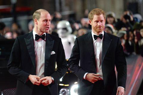 """Prinz William + Prinz Harry: """"Privates Treffen"""" nach der Enthüllung der Statue: Prinz William und Prinz Harry"""