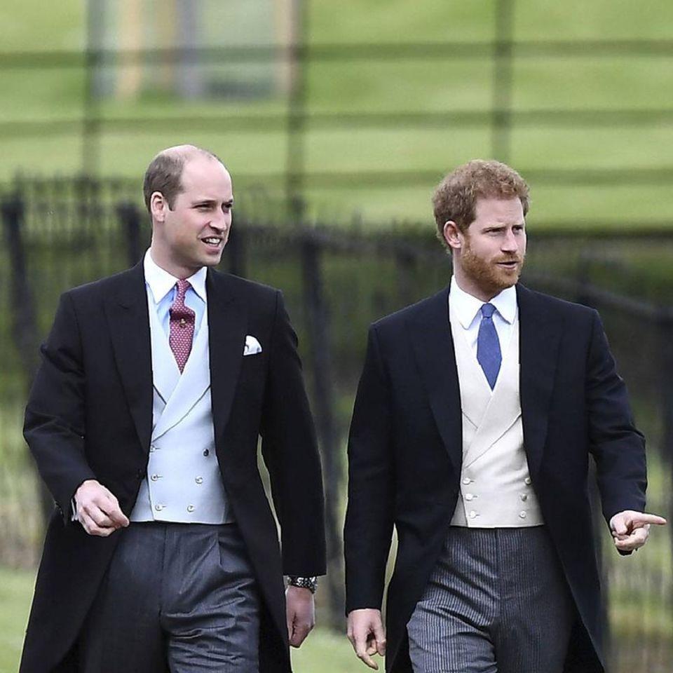 Prinz William + Prinz Harry: Das passierte vor und nach der Statue-Enthüllung: Prinz William und Prinz Harry