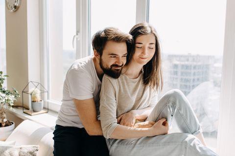 Gute Beziehung: Verliebtes Paar