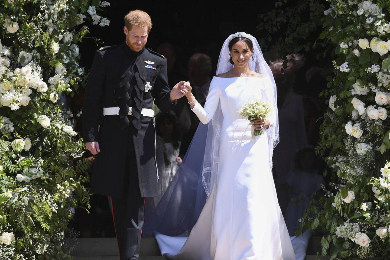 Herzogin Meghan: Ex-Kollegin spricht über die strengen Regeln auf der royalen Hochzeit: Prinz Harry und Herzogin Meghan