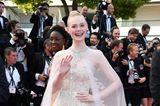 Elle Fanning in Cannes