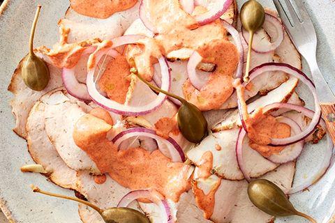 Porchetta mit Paprika-Mayonnaise
