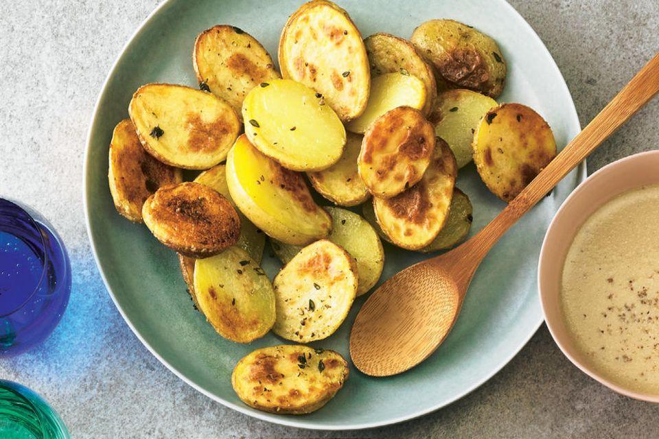 Kartoffelgerichte: Ofenkartoffeln mit Thymian
