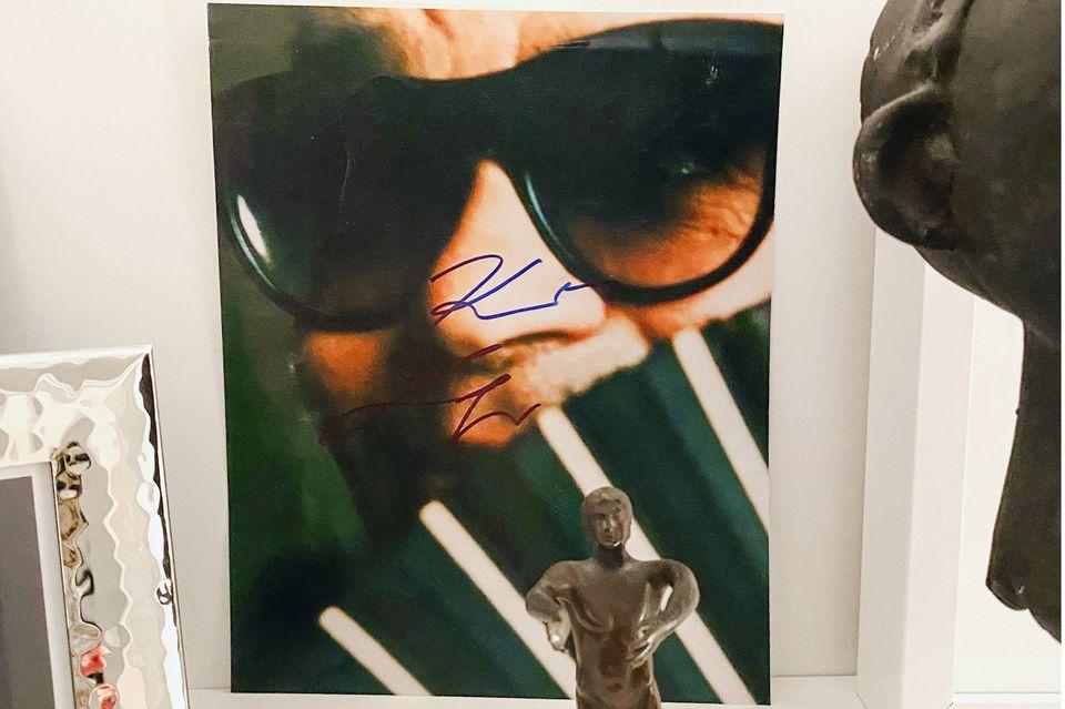 Guidos Deko-Liebling: Karl Lagerfeld Bild