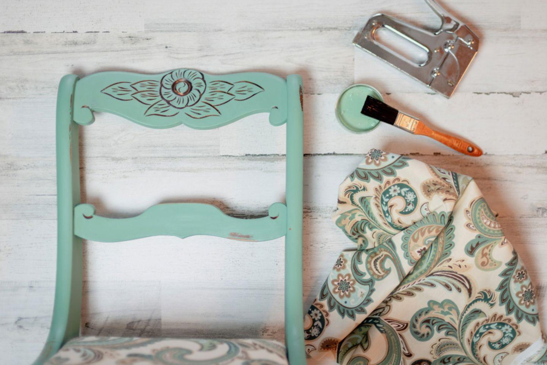 Upcycling-Ideen Möbel: Anstrich mit Kreidefarben