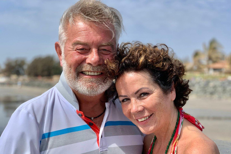 Harry Wijnvoord: Der Moderator hat wieder geheiratet: Harry Wijnvoord und Iris Dahlke