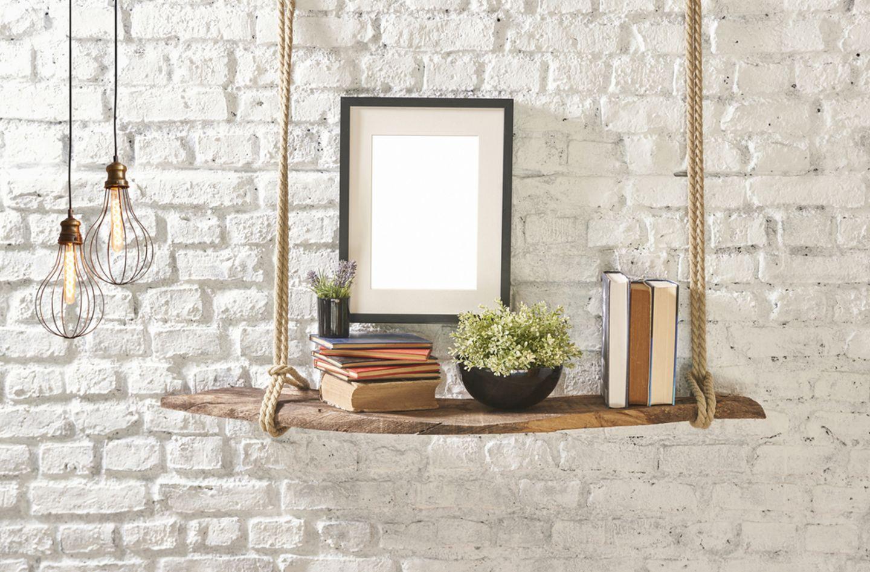 Upcycling-Ideen für Möbel: Regal aus Treibholz