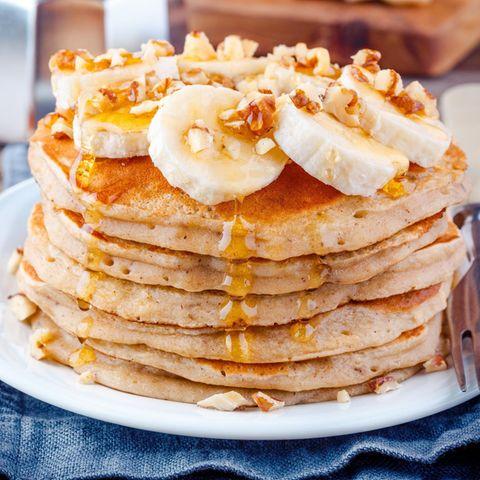 3-Zutaten-Rezept für das perfekte Frühstück: Bananen Pancakes