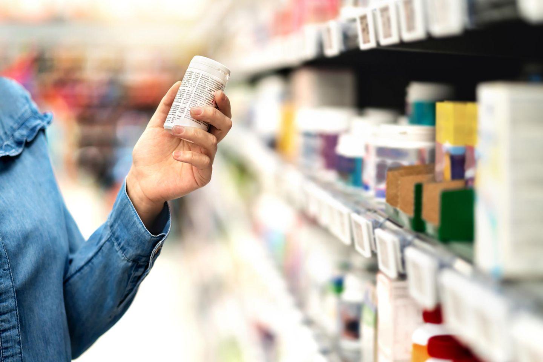 Rückruf: Nahrungsergänzungsmittel im Supermarkt