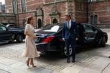 Im Juni 2020 trugKronprinzessin Mary von Dänemark das gleiche Kleid in Beige – und auch sie sieht darin fantastisch aus. Übrigens ist das Kleid von der britischen Marke Beulah London, die wohl unter den Royals sehr beliebt zu sein scheint.