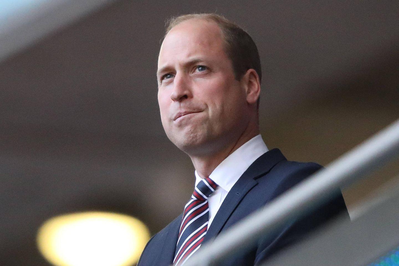 """Prinz William: """"Ich bin angewidert"""": Er verurteilt rassistische Fußballfans: Prinz William"""