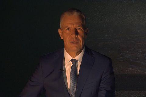 Stromausfall bei RTL: Peter Kloeppel im finsteren Studio