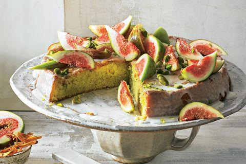 Schnelle Kuchen: Biskuit-Feigen-Kuchen