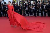 Marta Lozano in Cannes