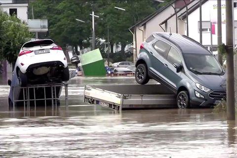 Schwere Unwetter in Deutschland