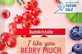 """Badekristalle I Like You Berry Much"" von Kneipp,"
