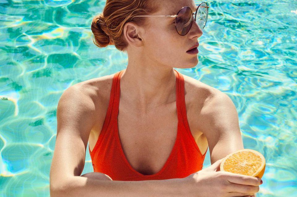 Früchte für die Schönheit: Orange