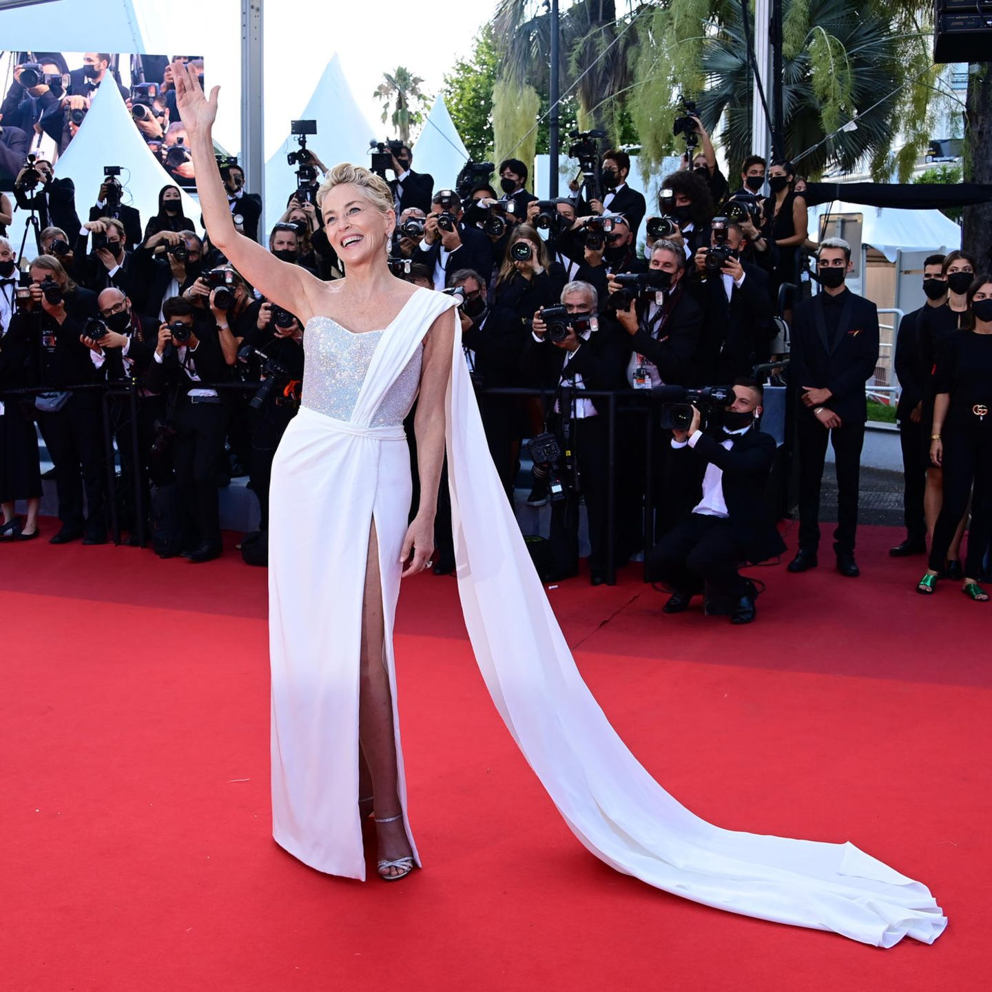 Sharon Stone in Cannes