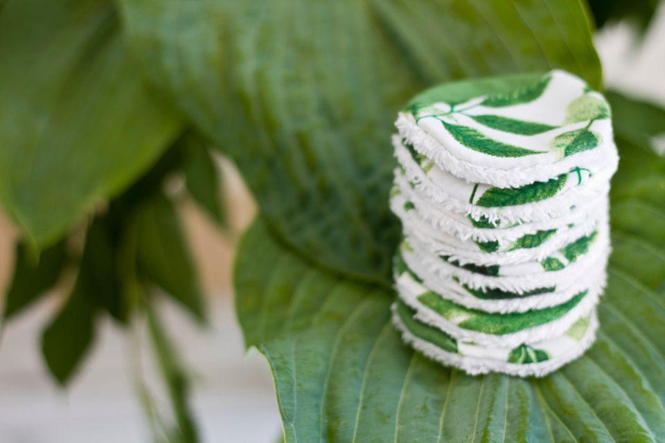Upcycling-Ideen für Kleidung: Kosmetikpads