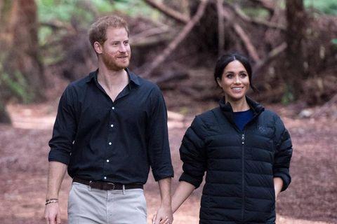Prinz Harry + Herzogin Meghan: Das sollen ihre Pläne für Lilibets Taufe sein: Prinz Harry und Herzogin Meghan
