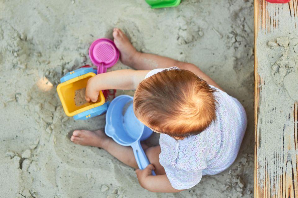 Gerichtsurteil: Kind spielt im Sandkasten